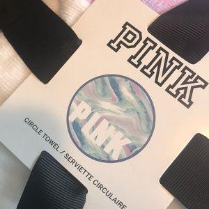 BNIP VS PINK ROUND TOWEL